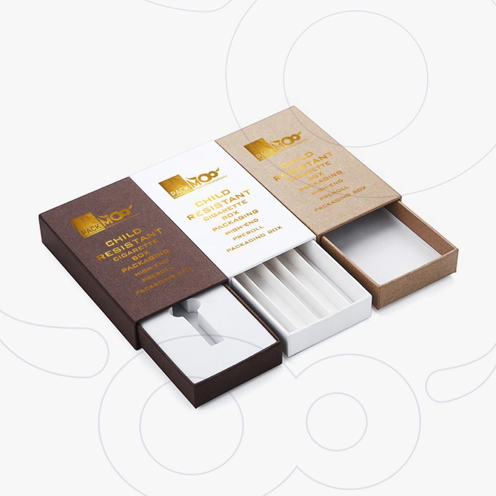Child Resistant Vape Cartridge Boxes