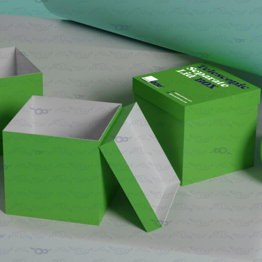Telescopic Separate Lid Box