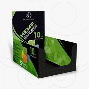 Custom Printed Gummies Boxes